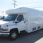 Chevy C5500 3 passenger charter shuttle coach bus for sale - Gas 3