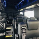 Mercedes 3500 12 passenger charter shuttle coach bus for sale - Diesel 7
