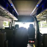 Mercedes 3500 12 passenger charter shuttle coach bus for sale - Diesel 8