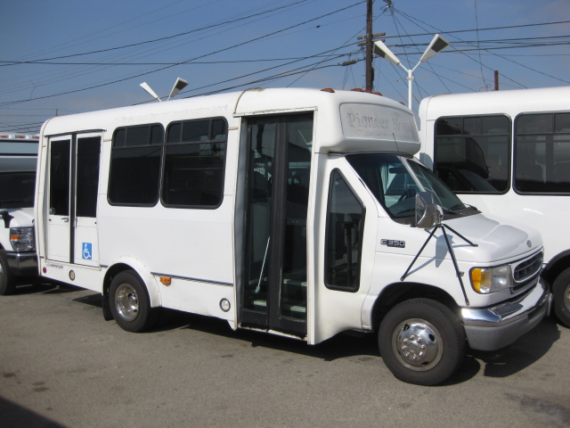 Ford E350  9 passenger charter shuttle coach bus for sale - Gas