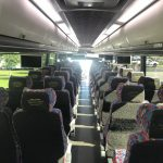 MCI 56 passenger charter shuttle coach bus for sale - Diesel 6