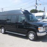 Ford E150 9 passenger charter shuttle coach bus for sale - Gas 1