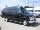 Ford E150 9 passenger charter shuttle coach bus for sale - Gas