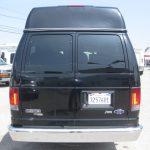 Ford E150 9 passenger charter shuttle coach bus for sale - Gas 4