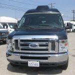 Ford E150 9 passenger charter shuttle coach bus for sale - Gas 2