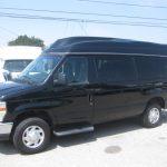 Ford E150 9 passenger charter shuttle coach bus for sale - Gas 3