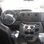 Ford E150 9 passenger charter shuttle coach bus for sale - Gas 8