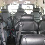 Ford E150 9 passenger charter shuttle coach bus for sale - Gas 6