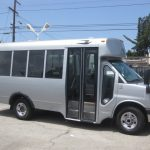 Chevy C3500 11 passenger charter shuttle coach bus for sale - Gas 1