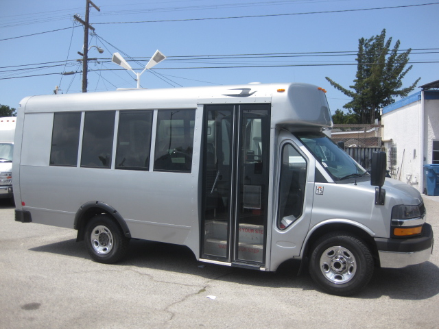 Chevy C3500 11 passenger charter shuttle coach bus for sale - Gas