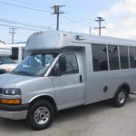 Chevy C3500 11 passenger charter shuttle coach bus for sale - Gas 3
