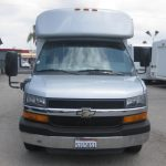 Chevy C3500 11 passenger charter shuttle coach bus for sale - Gas 2