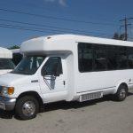 Ford E450 18 passenger charter shuttle coach bus for sale - Gas 3