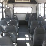 Ford E450 18 passenger charter shuttle coach bus for sale - Gas 6