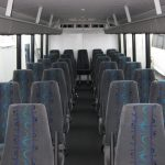 Ford F650 36 passenger charter shuttle coach bus for sale - Diesel 5