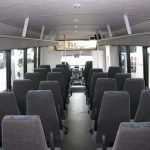 Ford F650 36 passenger charter shuttle coach bus for sale - Diesel 6