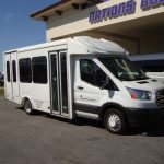 Ford Transit 10 passenger charter shuttle coach bus for sale - Gas 1