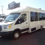 Ford Transit 10 passenger charter shuttle coach bus for sale - Gas 3