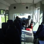 Ford Transit 10 passenger charter shuttle coach bus for sale - Gas 6