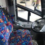 MCI 56 passenger charter shuttle coach bus for sale - Diesel 8