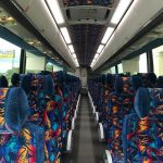 MCI 56 passenger charter shuttle coach bus for sale - Diesel 5