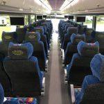 MCI 56 passenger charter shuttle coach bus for sale - Diesel 7