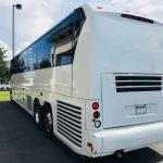 MCI 56 passenger charter shuttle coach bus for sale - Diesel 4