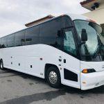 MCI 56 passenger charter shuttle coach bus for sale - Diesel 1