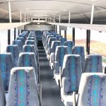 Freightliner M2 41 passenger charter shuttle coach bus for sale - Diesel 7