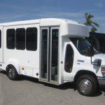 Ford E350  9 passenger charter shuttle coach bus for sale - Gas 1