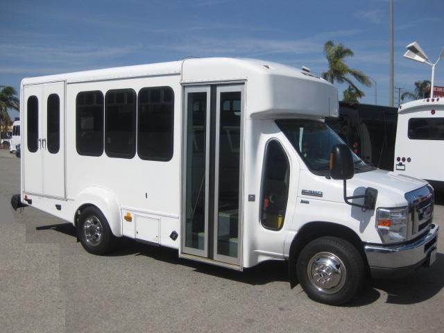 Ford E350  9 passenger charter shuttle coach bus for sale - Gas