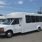Chevy 4500 20 passenger charter shuttle coach bus for sale - Gas 3