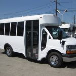 Chevy 3500 11 passenger charter shuttle coach bus for sale - Gas 1