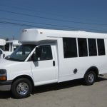 Chevy 3500 11 passenger charter shuttle coach bus for sale - Gas 3