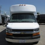 Chevy 3500 11 passenger charter shuttle coach bus for sale - Gas 2