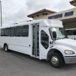 Freightliner S2C 33 passenger charter shuttle coach bus for sale - Diesel 1