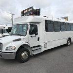 Freightliner S2C 33 passenger charter shuttle coach bus for sale - Diesel 3