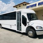 Freightliner M2 37 passenger charter shuttle coach bus for sale - Diesel 1