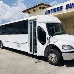 Freightliner M2 41 passenger charter shuttle coach bus for sale - Diesel 1