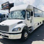 Freightliner M2 41 passenger charter shuttle coach bus for sale - Diesel 3