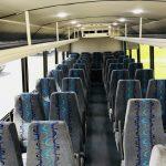 Freightliner M2 41 passenger charter shuttle coach bus for sale - Diesel 6