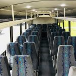 Freightliner M2 37 passenger charter shuttle coach bus for sale - Diesel 6