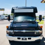 Chevy C5500 24 passenger charter shuttle coach bus for sale - Diesel 2