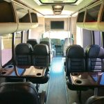 Chevy C5500 24 passenger charter shuttle coach bus for sale - Diesel 6