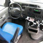 Ford E350  14 passenger charter shuttle coach bus for sale - Gas 7