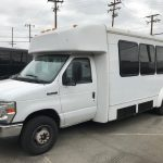 Ford E450 21 passenger charter shuttle coach bus for sale - Gas 2