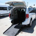 Dodge Caravan 4 passenger charter shuttle coach bus for sale - Gas 5