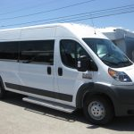 Ram 2500 4 passenger charter shuttle coach bus for sale - Gas 1