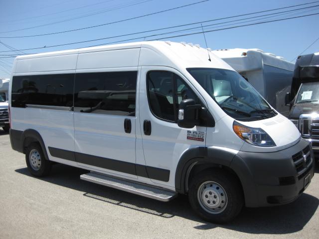Ram 2500 4 passenger charter shuttle coach bus for sale - Gas
