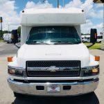Chevy C5500 29 passenger charter shuttle coach bus for sale - Diesel 2